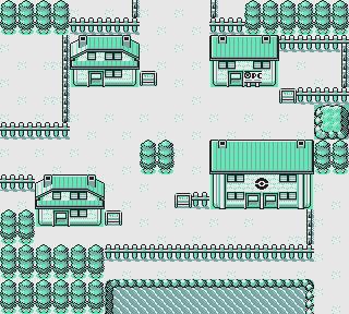Pokemon Oro y Plata Space World Ciudad 1
