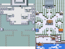 Pokemon Oro y Plata Space World Parecidos Sinnoh 2